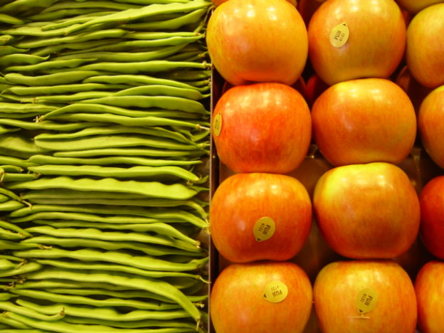 appleandgreen beans