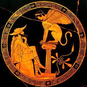 אדיפוס והספינקס
